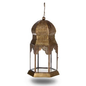 antique brass dome lantern