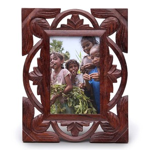 jali cut photo frame