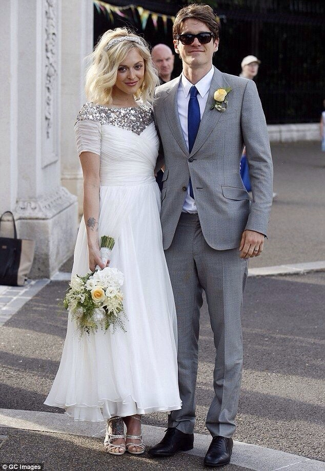 Real Bride: Fearne Cotton