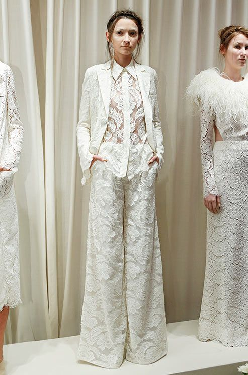 Trend: The Bridal Pant Suit