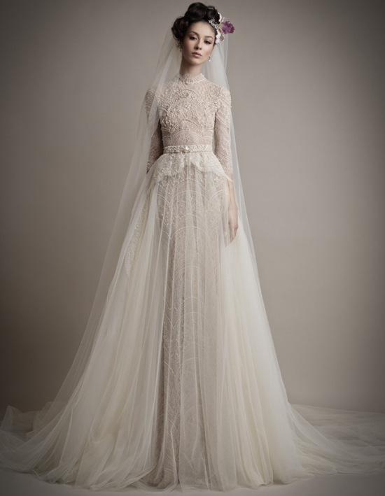 My Top Ten- Designer Gowns | The Modest Bride