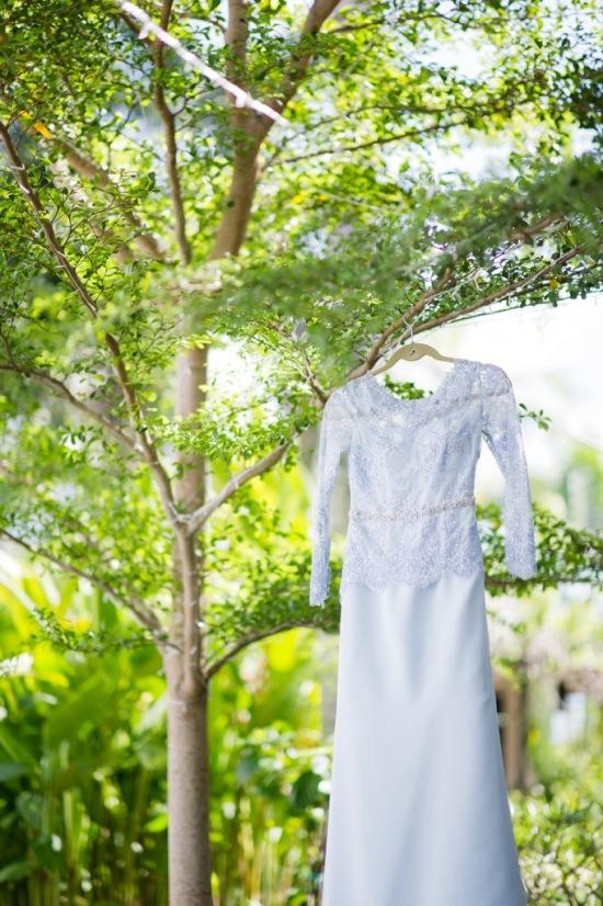 A cross cultural garden wedding
