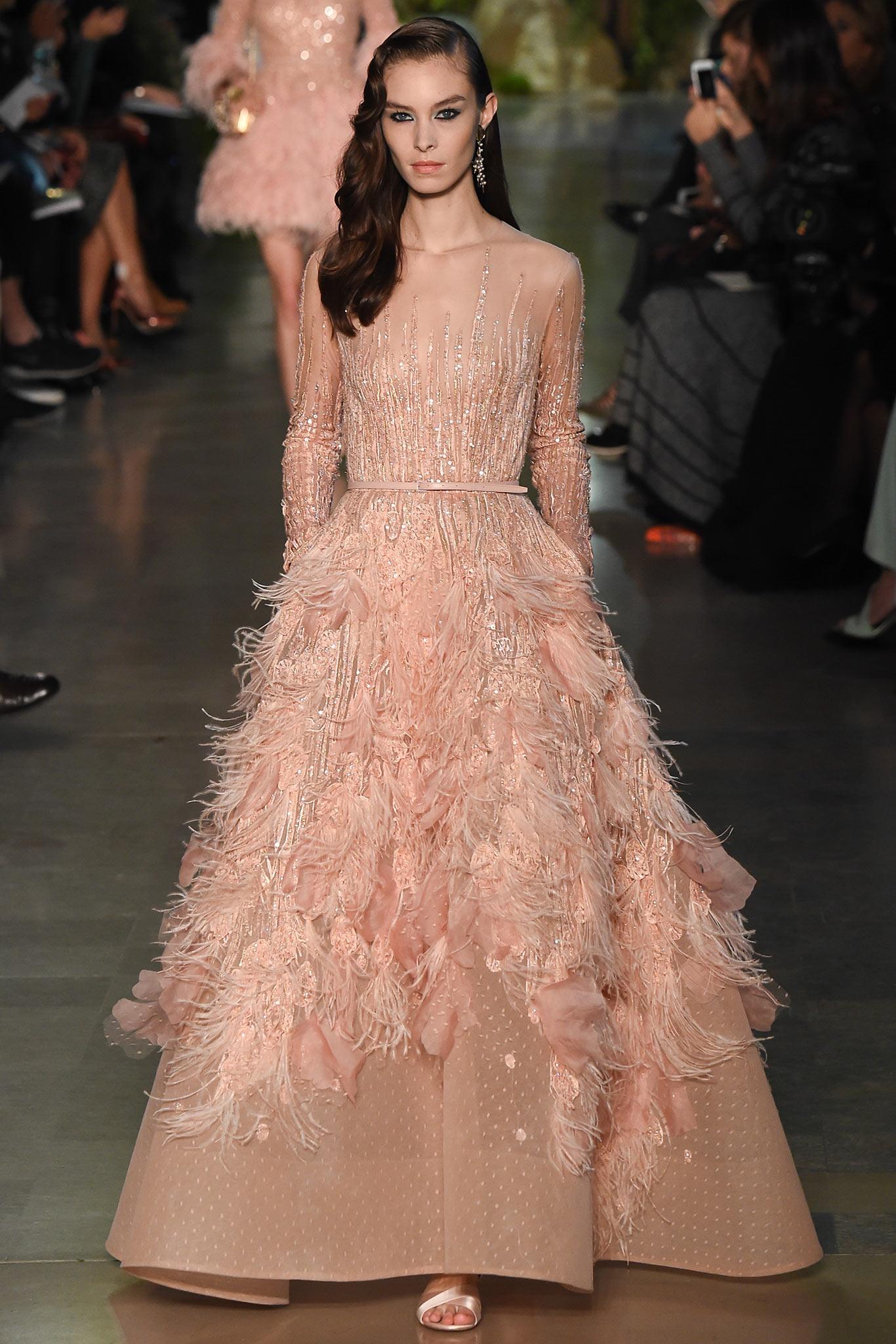Tabliers Haute Couture : Haute couture elie saab the modest bride